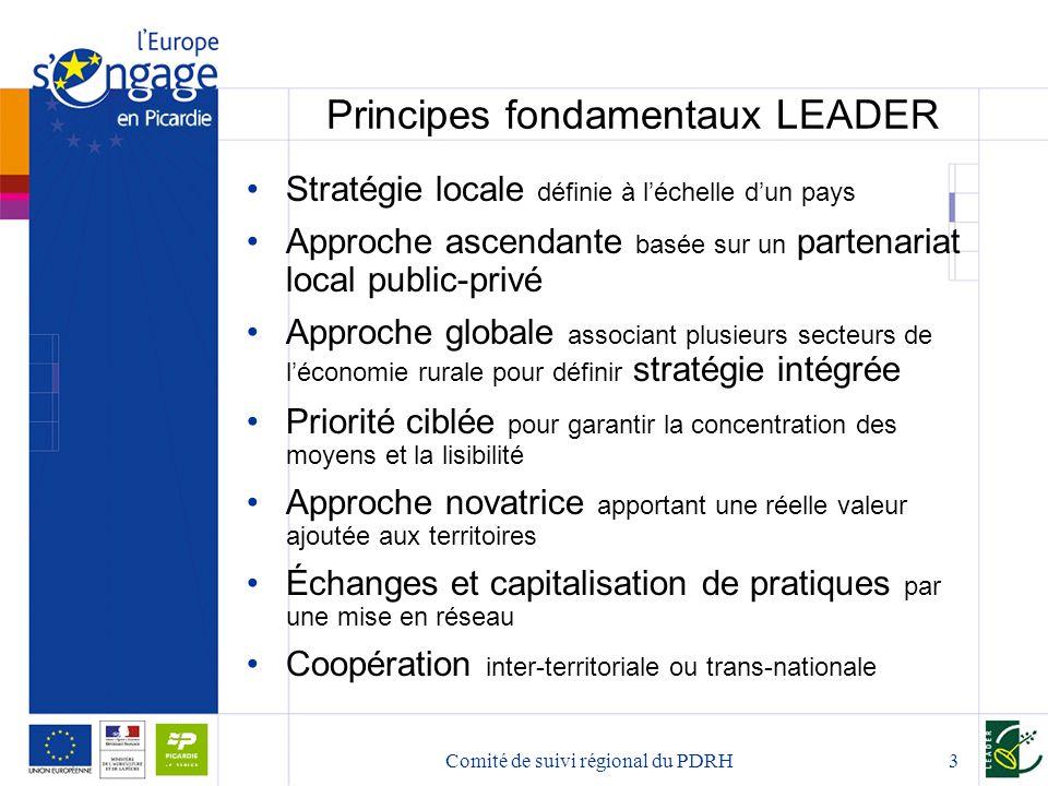 Principes fondamentaux LEADER