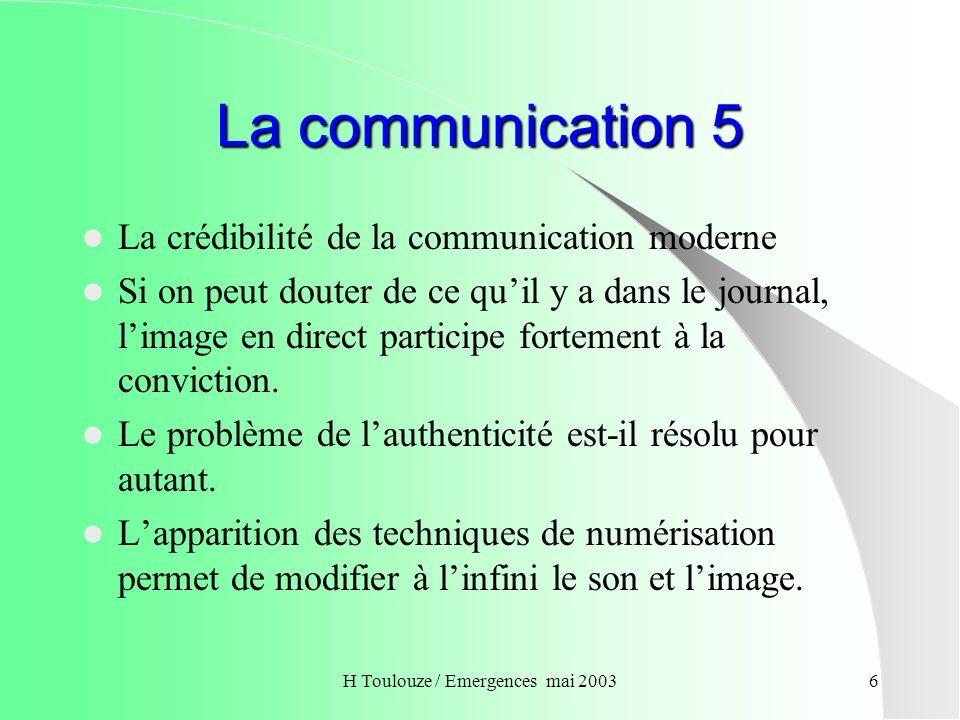 la communication de crise ppt t l charger