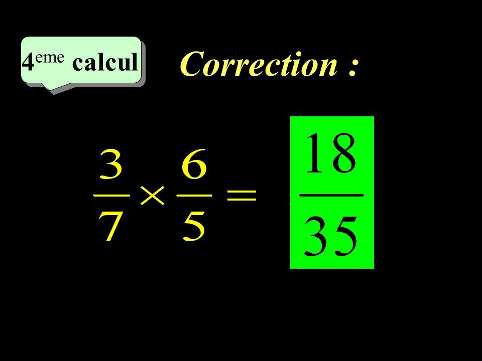 Correction : 4eme calcul 4eme calcul 1 17