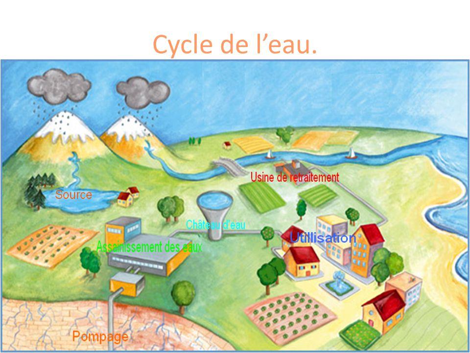 Cycle de l'eau.