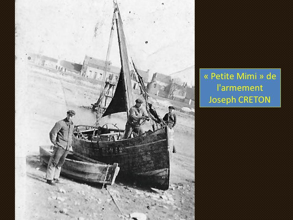 « Petite Mimi » de l armement Joseph CRETON