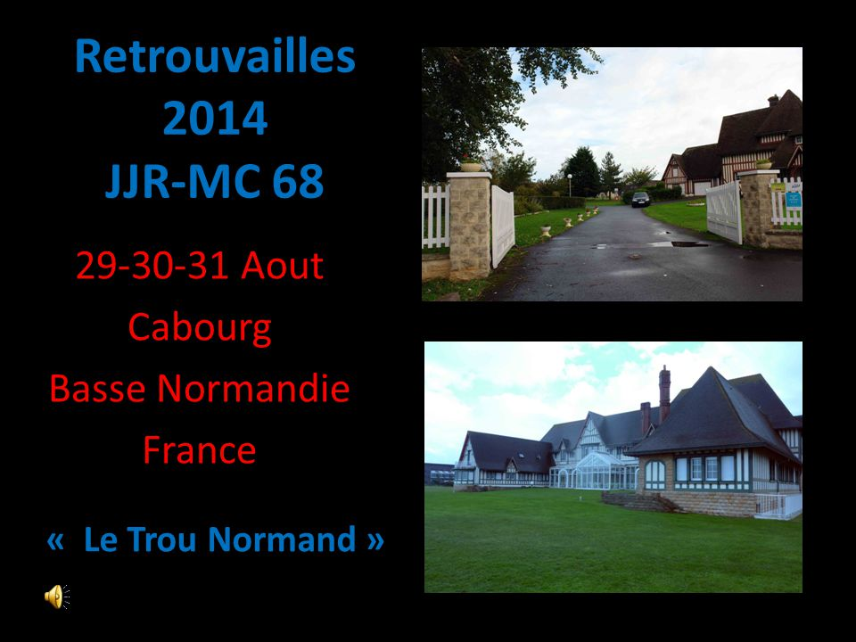 29-30-31 Aout Cabourg Basse Normandie France