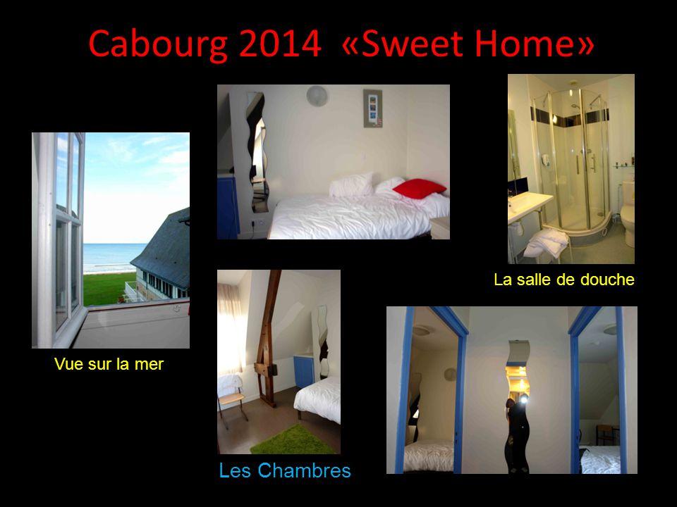 Cabourg 2014 «Sweet Home» Les Chambres La salle de douche