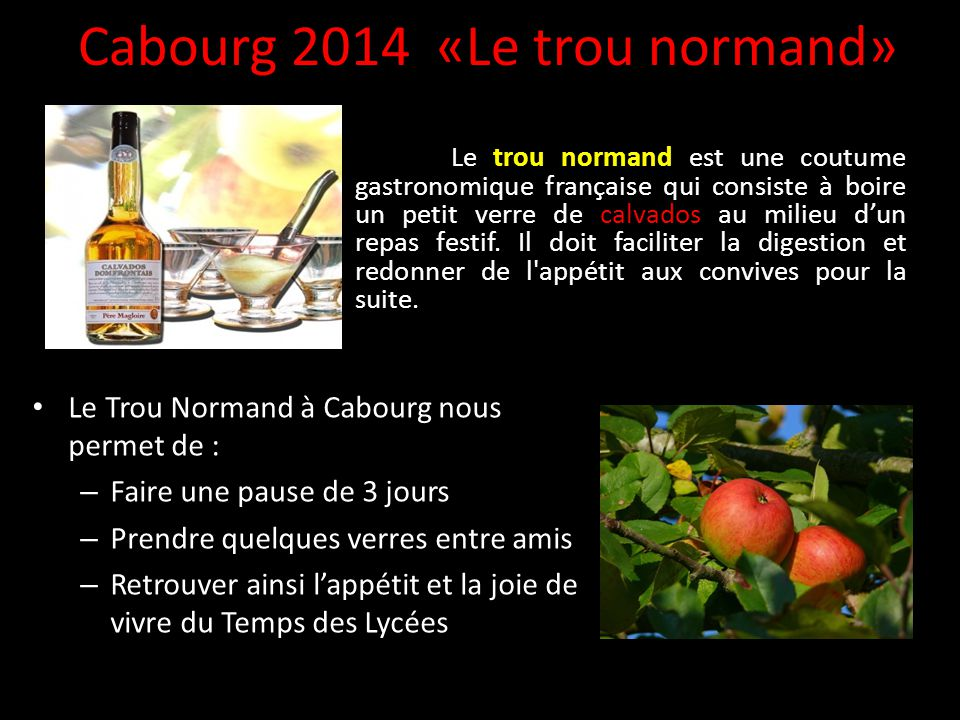 Cabourg 2014 «Le trou normand»