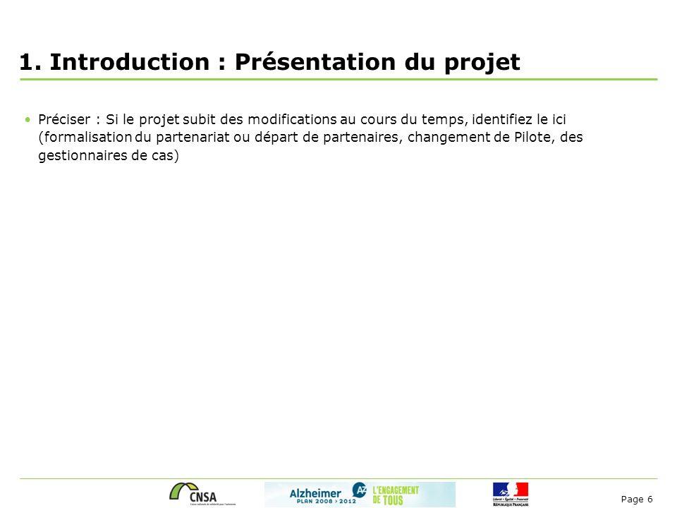 1. Introduction : Présentation du projet