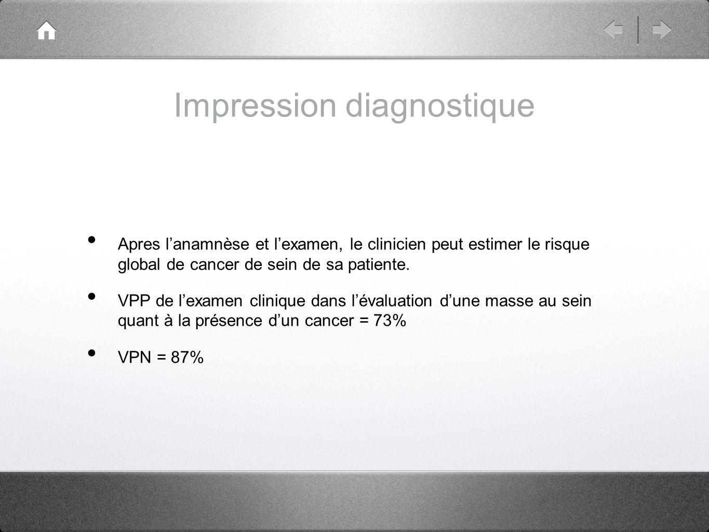 Impression diagnostique