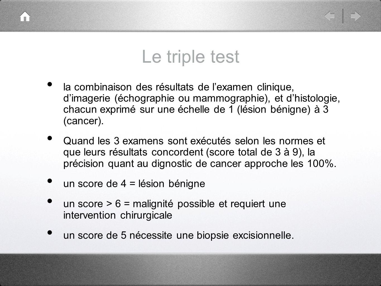 Le triple test