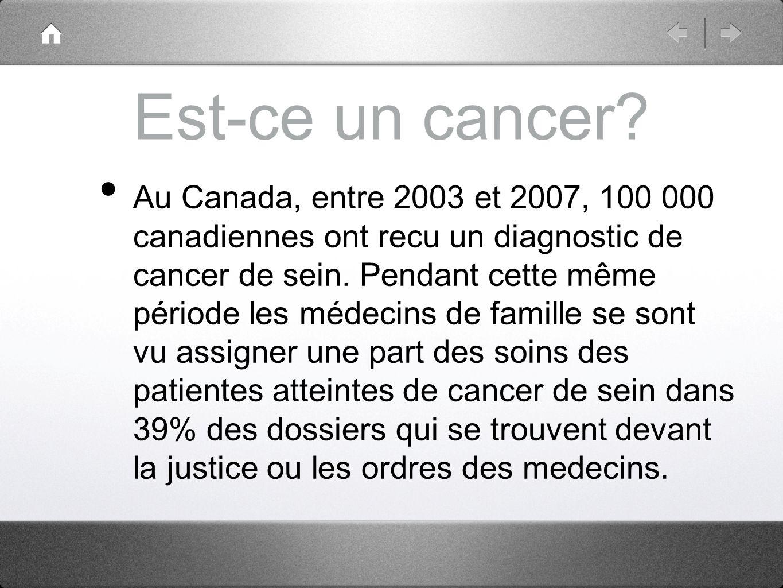 Est-ce un cancer