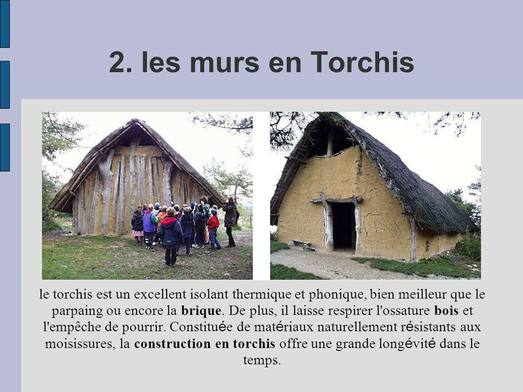 2. les murs en Torchis