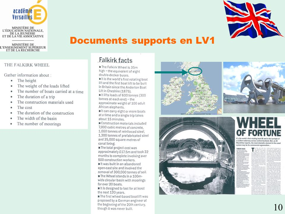 Documents supports en LV1