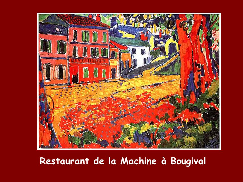 Restaurant de la Machine à Bougival