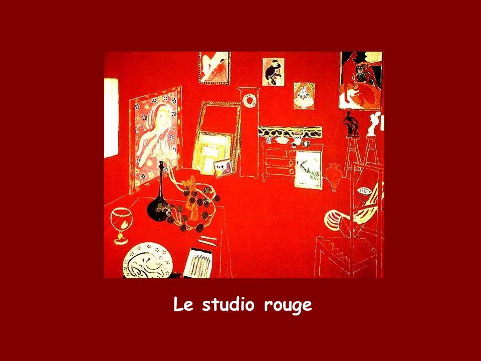 Le studio rouge