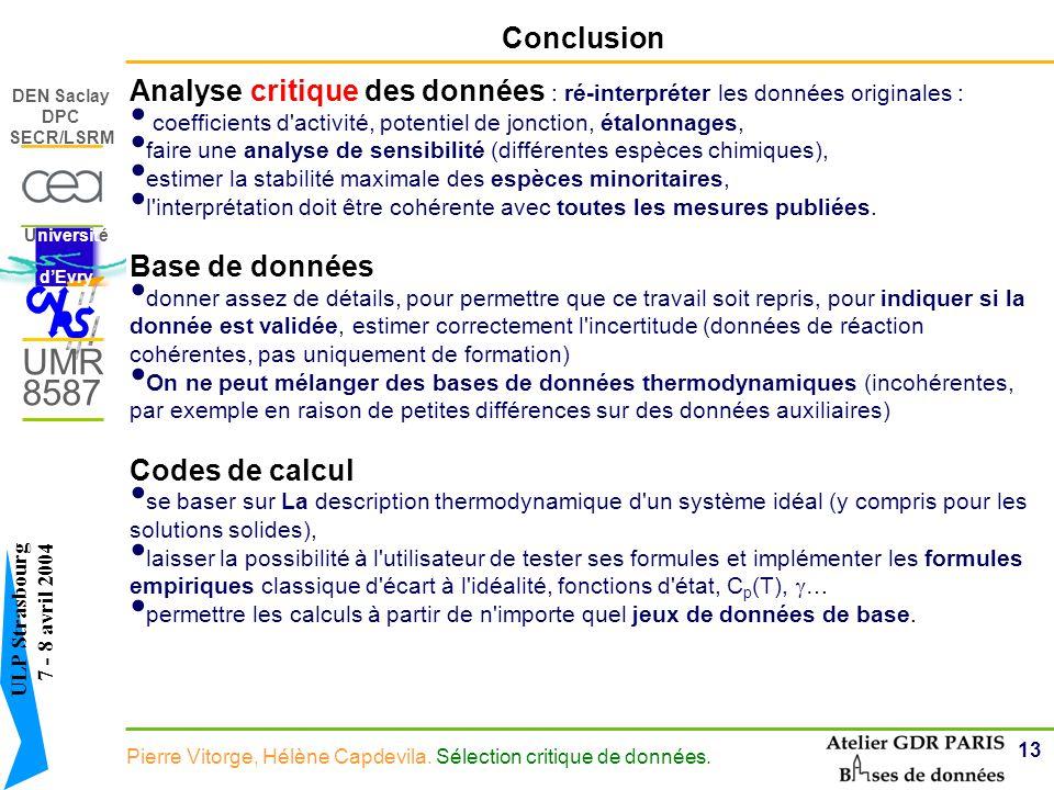 Analyse critique des données : ré-interpréter les données originales :