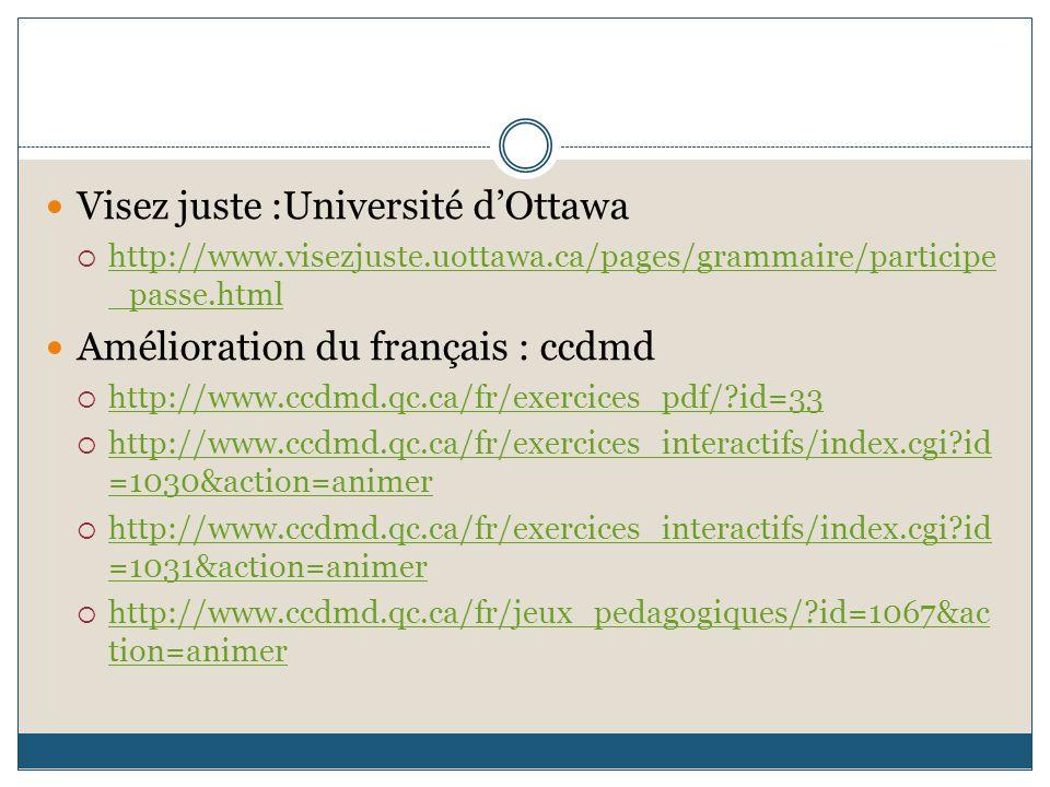 Visez juste :Université d'Ottawa