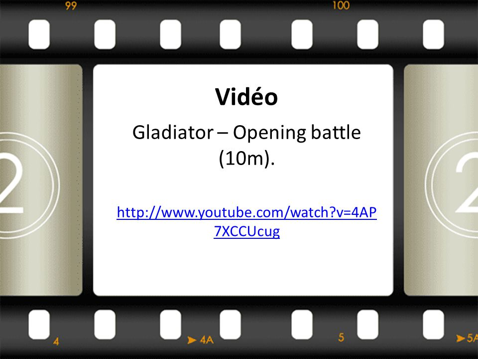 Gladiator – Opening battle