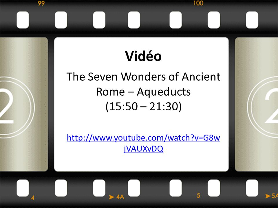 The Seven Wonders of Ancient Rome – Aqueducts