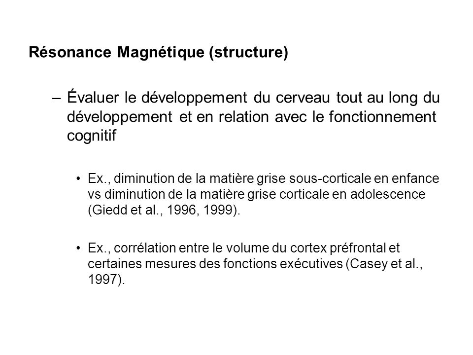 Résonance Magnétique (structure)