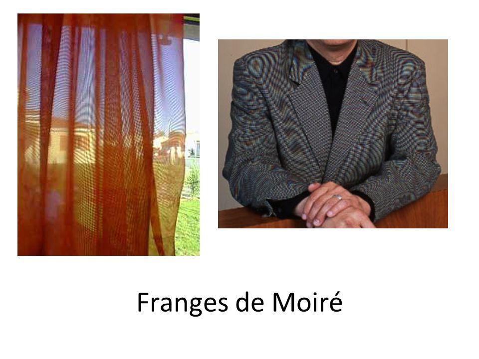 Franges de Moiré