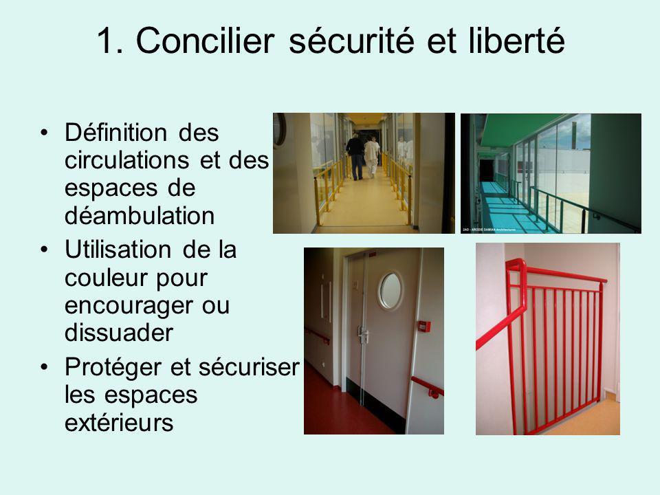 1. Concilier sécurité et liberté