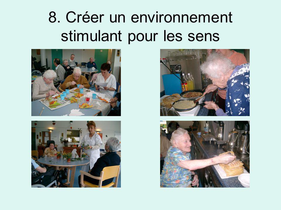 8. Créer un environnement stimulant pour les sens