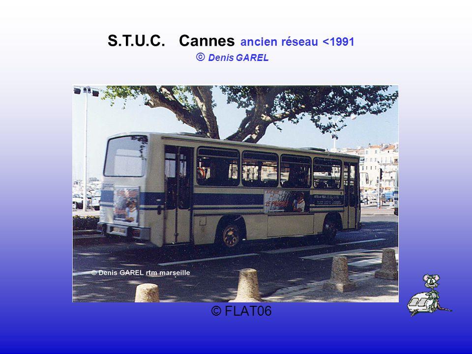S.T.U.C. Cannes ancien réseau <1991