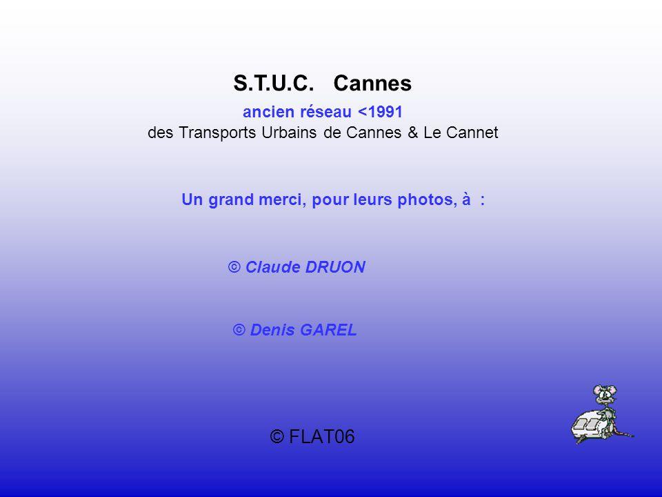 des Transports Urbains de Cannes & Le Cannet