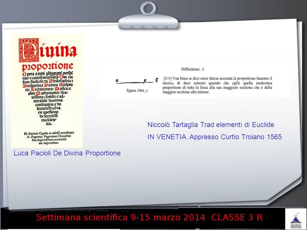 Niccolò Tartaglia Trad elementi di Euclide