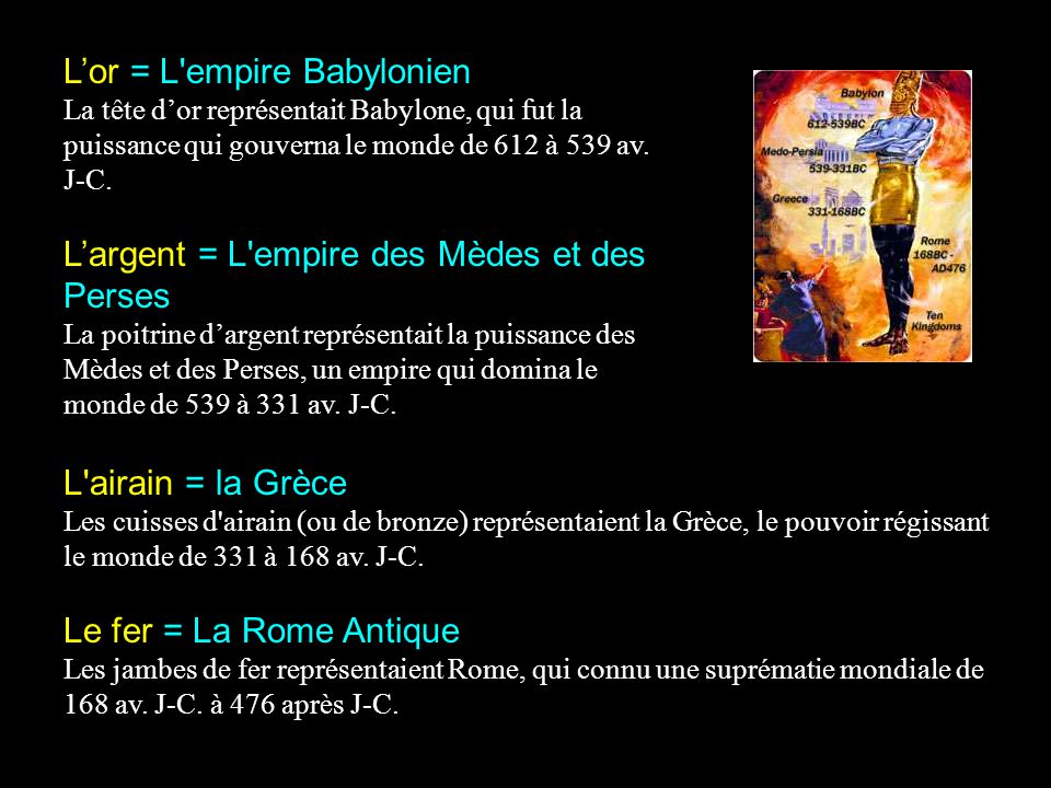 L'or = L empire Babylonien