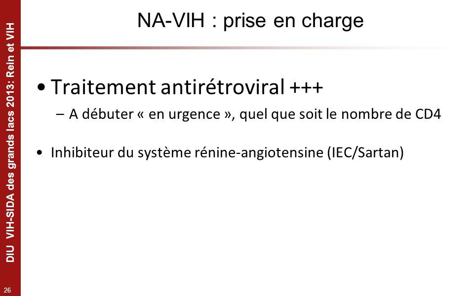 NA-VIH : prise en charge