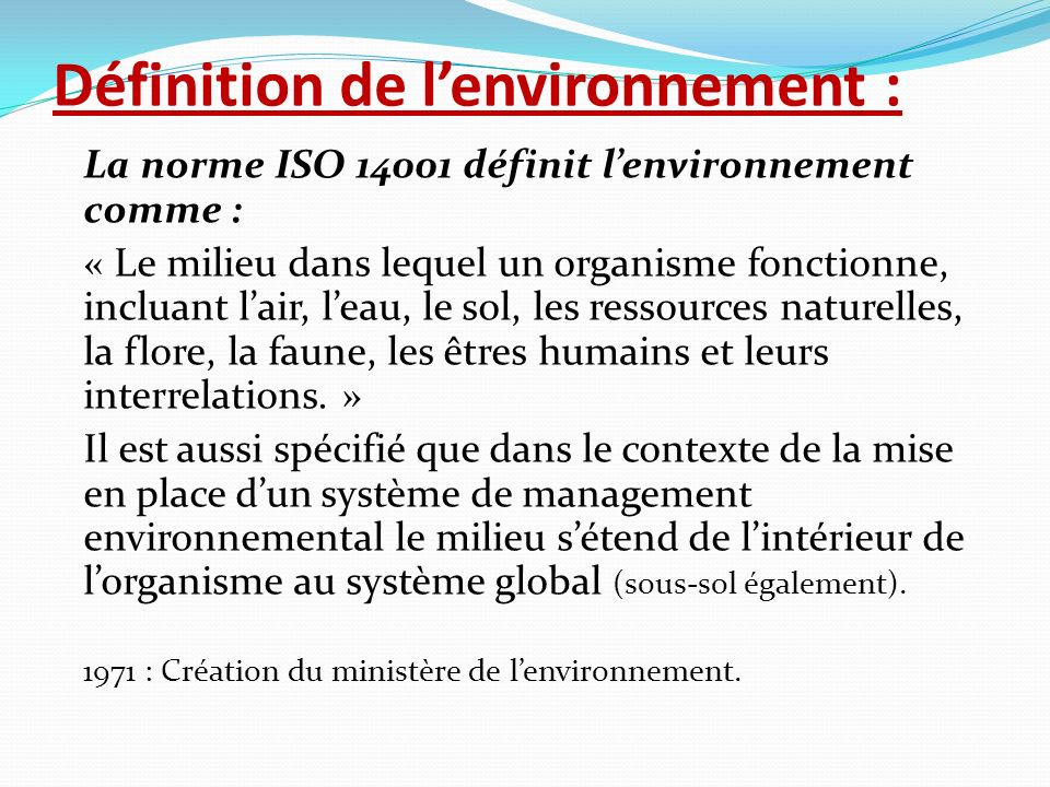 D finition de iso for Flore definition