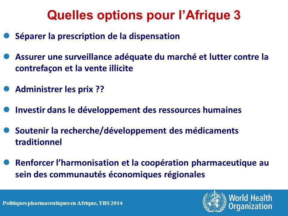 Quelles options pour l'Afrique 3