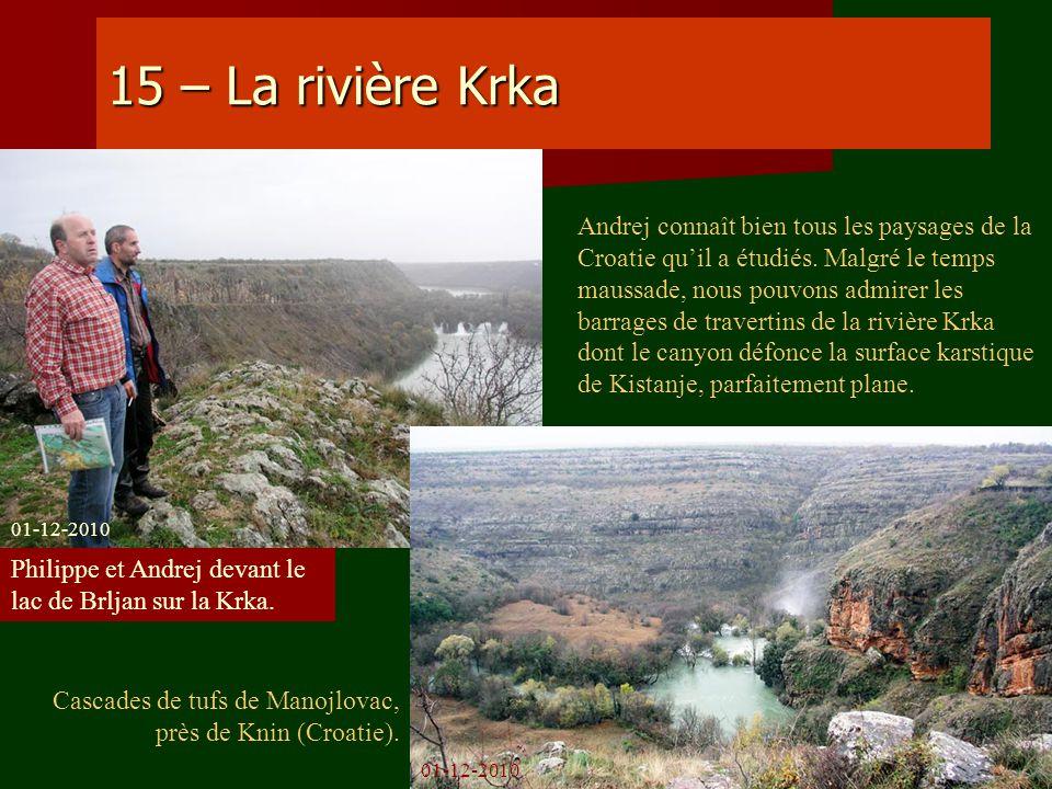 15 – La rivière Krka