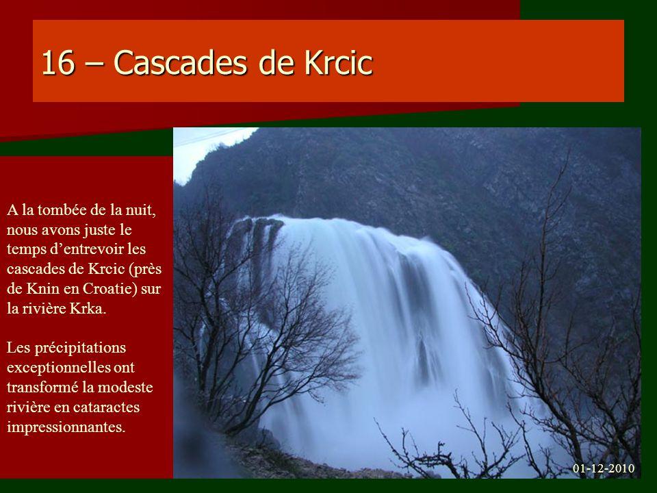 16 – Cascades de Krcic