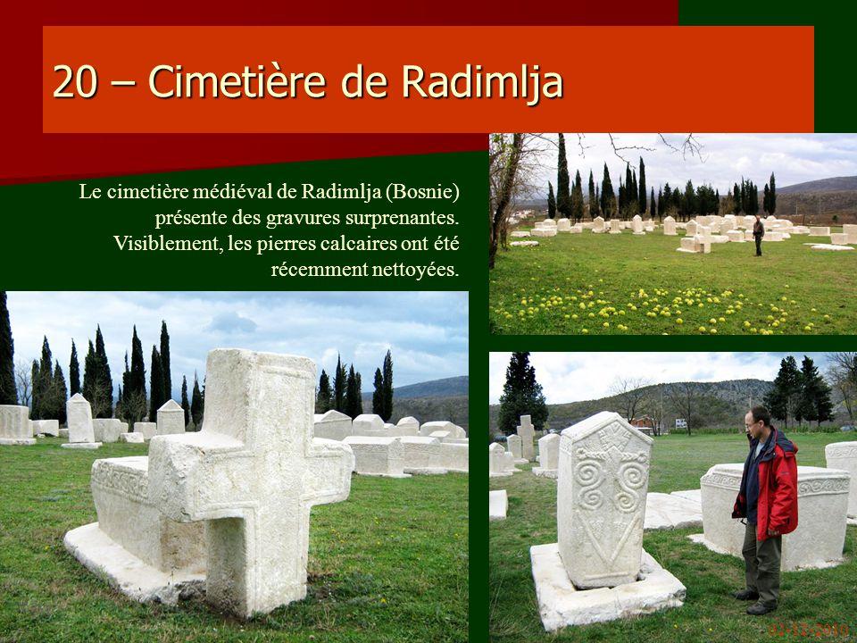 20 – Cimetière de Radimlja