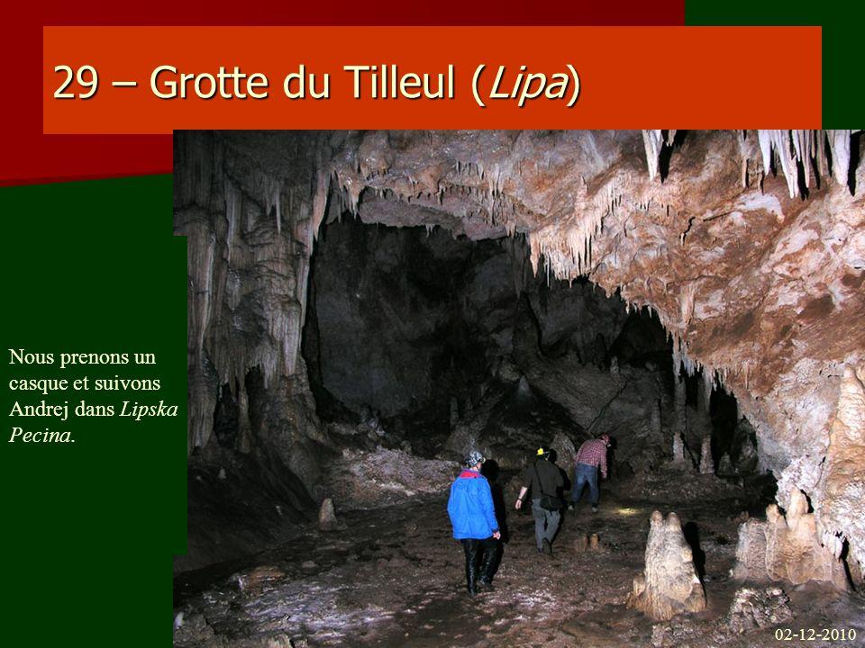 29 – Grotte du Tilleul (Lipa)