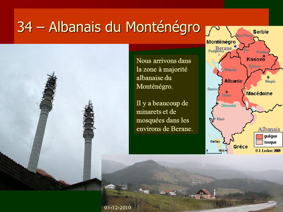34 – Albanais du Monténégro