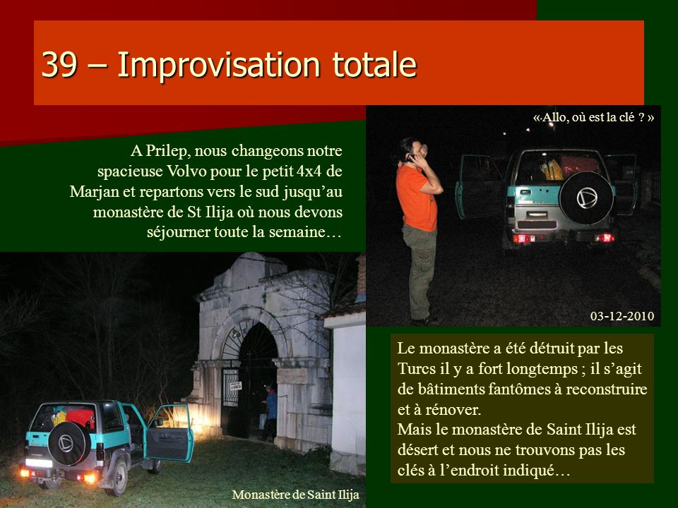 39 – Improvisation totale