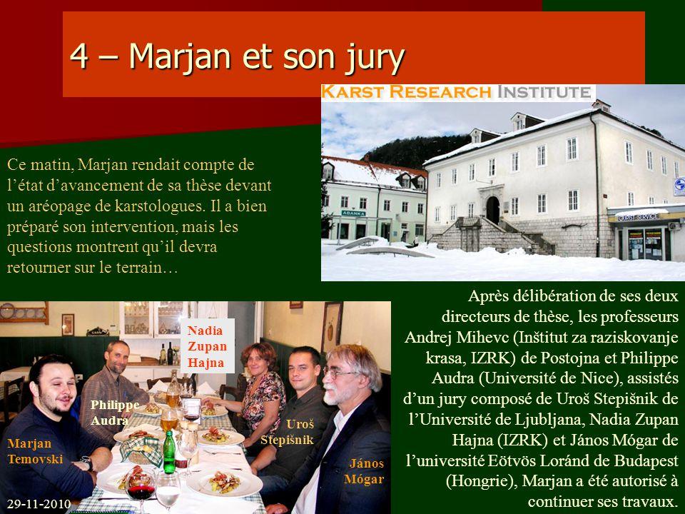 4 – Marjan et son jury