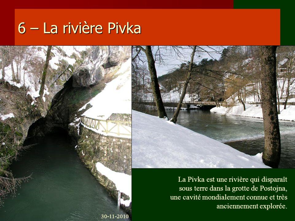 6 – La rivière Pivka