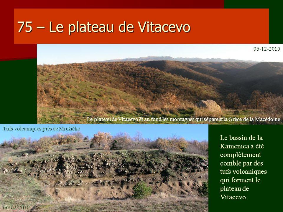 75 – Le plateau de Vitacevo
