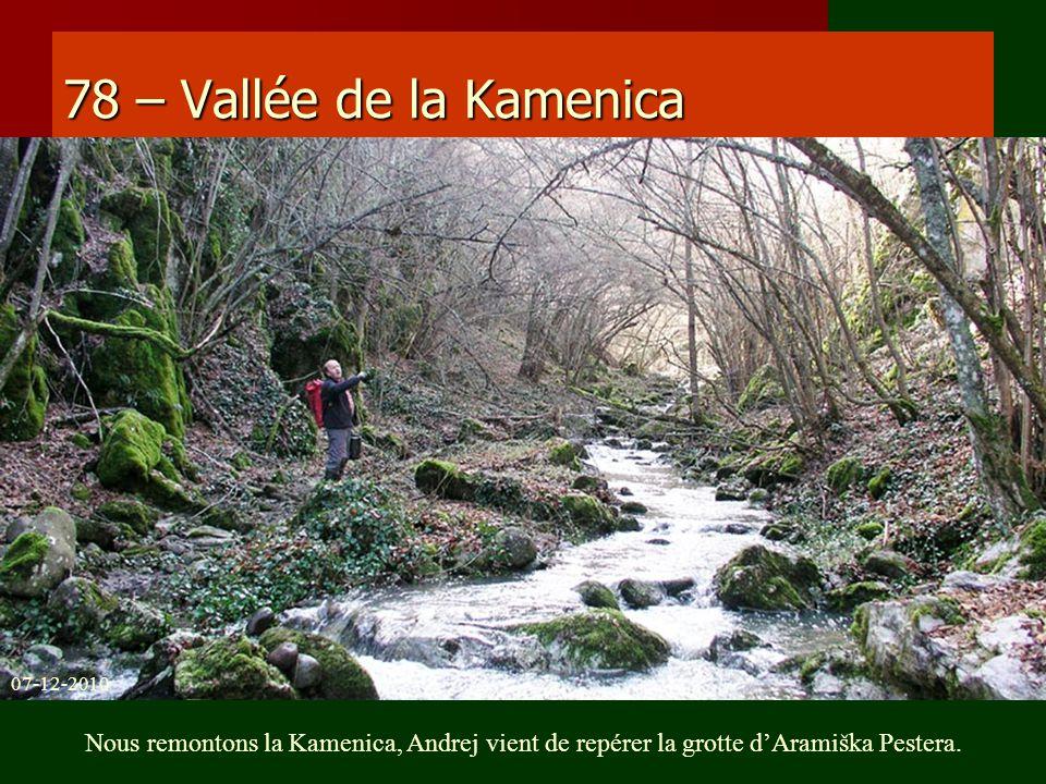 78 – Vallée de la Kamenica 07-12-2010.