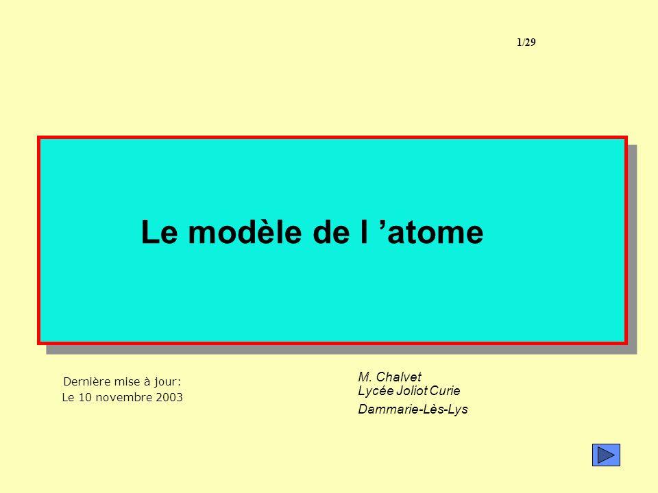 M. Chalvet Lycée Joliot Curie Dammarie-Lès-Lys