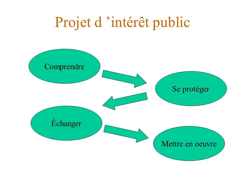 Projet d 'intérêt public