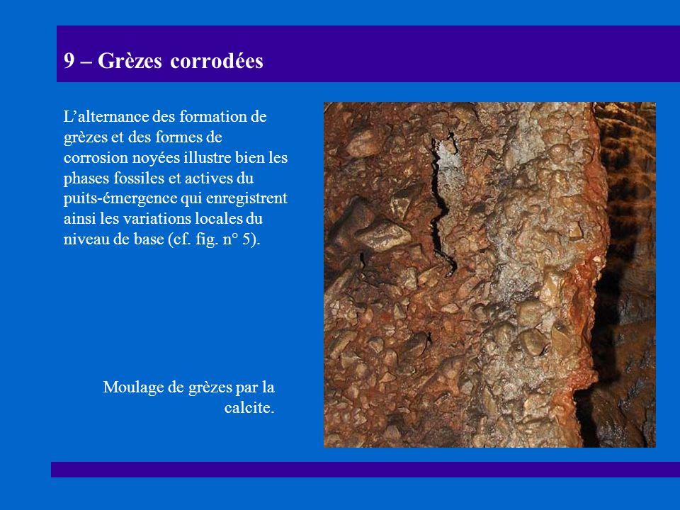 9 – Grèzes corrodées