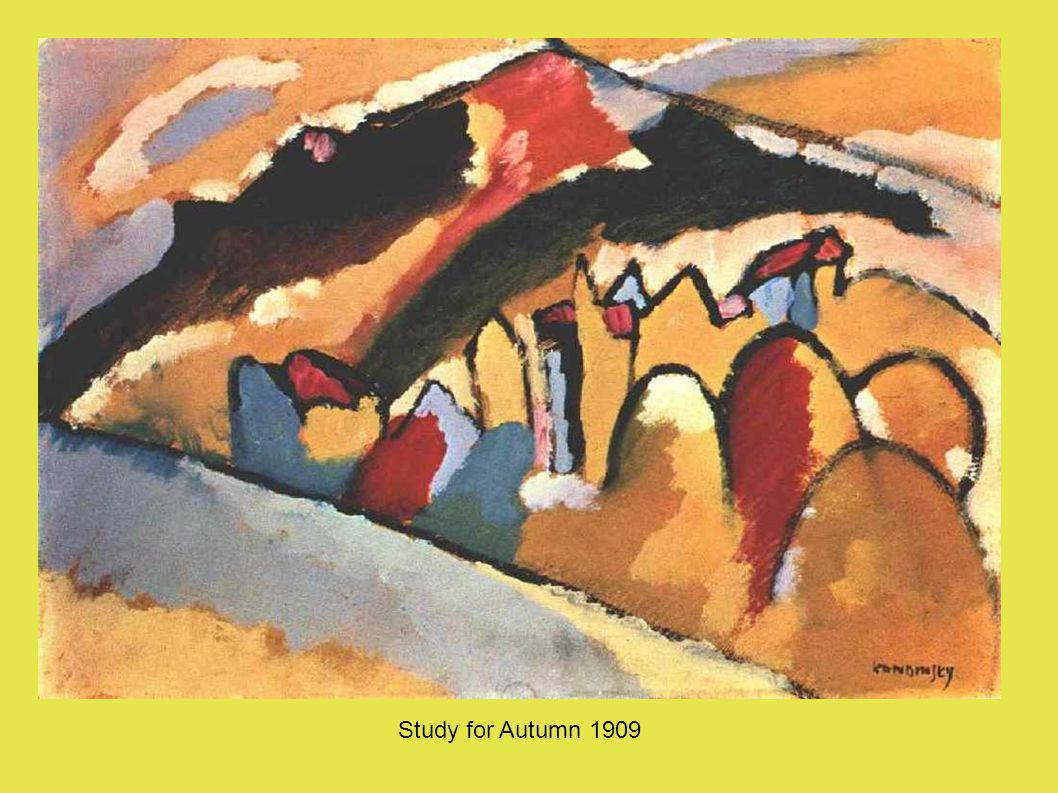Study for Autumn 1909