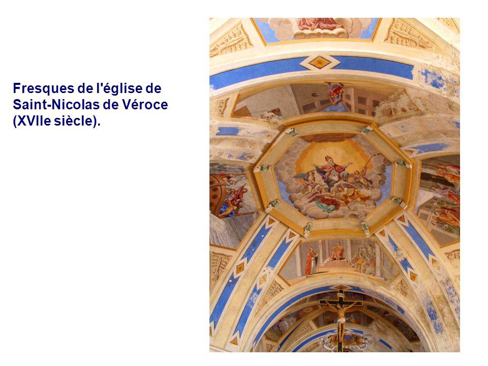 Les Thermes Fresques de l église de Saint-Nicolas de Véroce