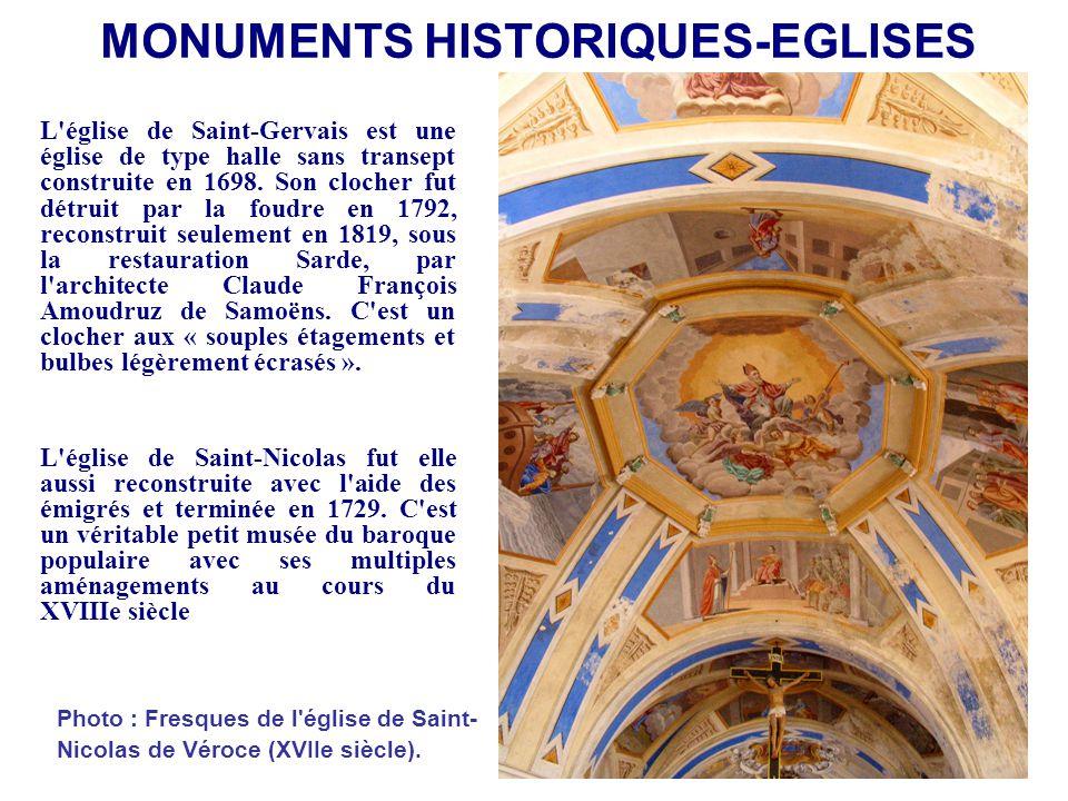MONUMENTS HISTORIQUES-EGLISES