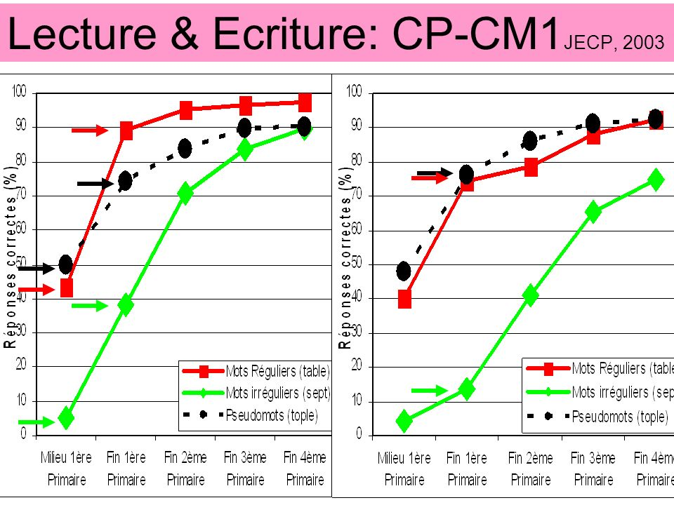 Lecture & Ecriture: CP-CM1JECP, 2003