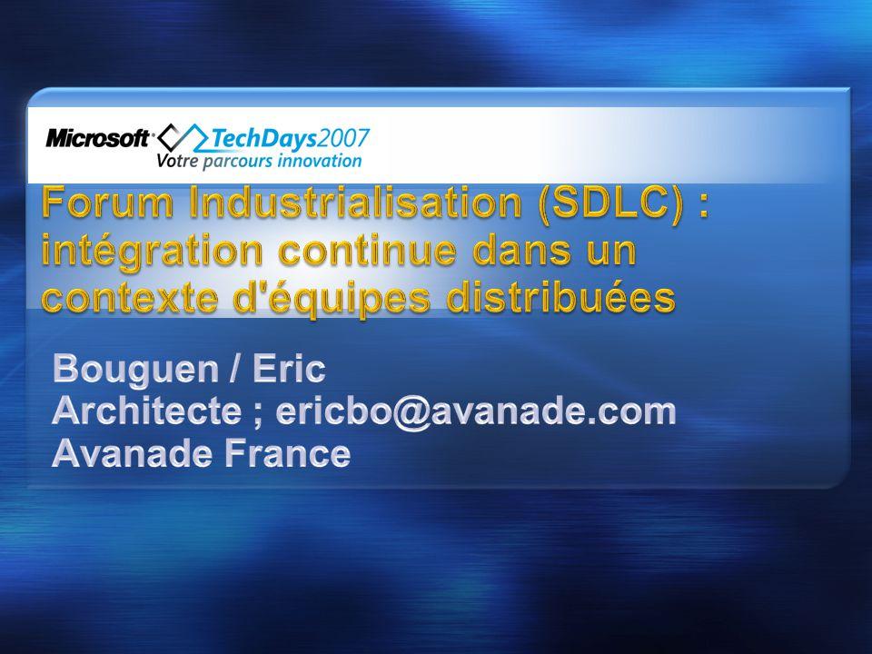 Bouguen / Eric Architecte ; ericbo@avanade.com Avanade France