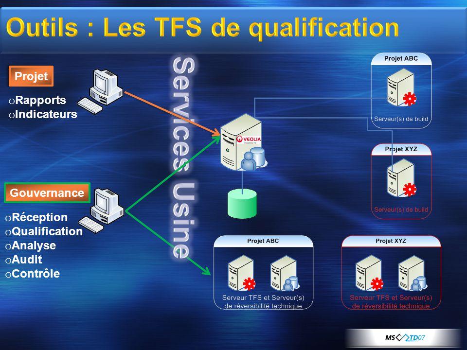 Outils : Les TFS de qualification
